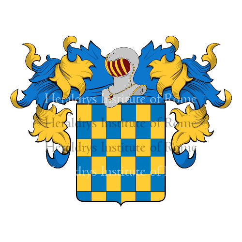 Coat of Arms of family Serignara