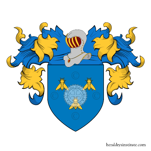 Coat of Arms of family Barbarini