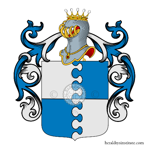 Coat of arms of family Sansalvatore