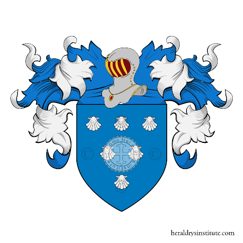 Coat of Arms of family Gauterin