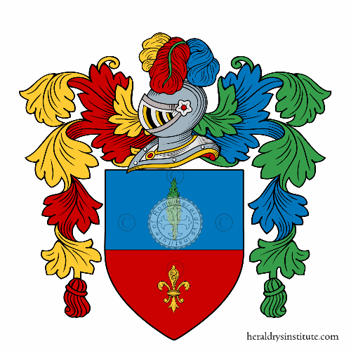 Coat of Arms of family Spinetta
