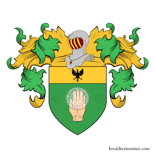 Coat of Arms of family Amani