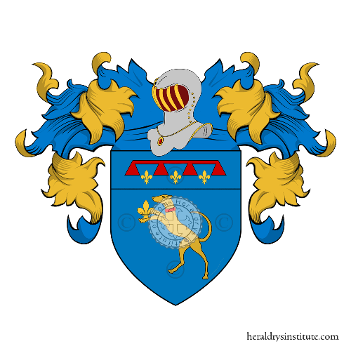 Coat of Arms of family Ravagli