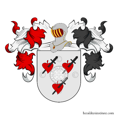Coat of Arms of family Barcas