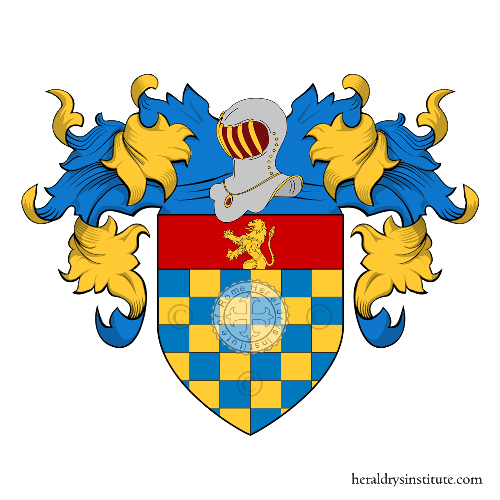 Coat of Arms of family Pezza