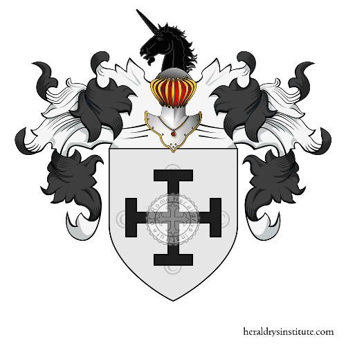 Coat of Arms of family Marzano