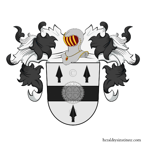 Coat of Arms of family Bellem