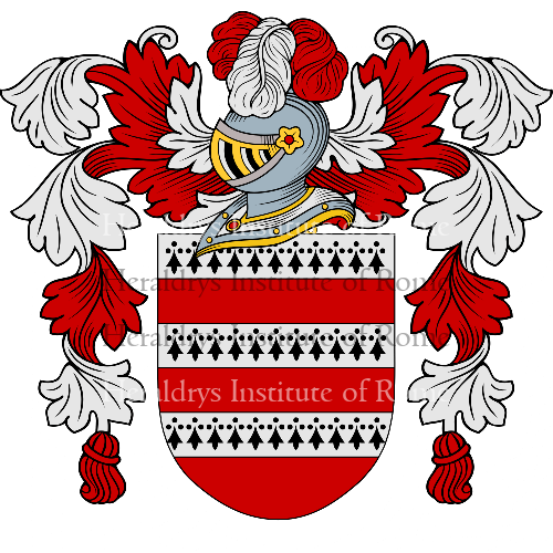 Coat of Arms of family Barbera'