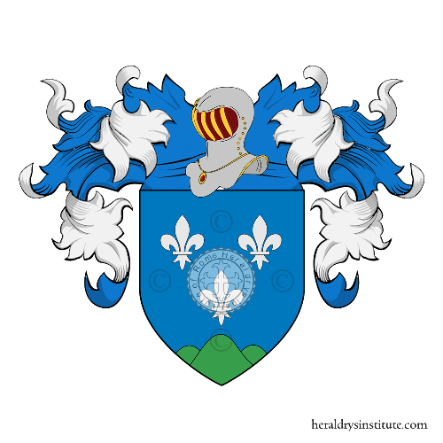 Coat of Arms of family Bergamin (von)