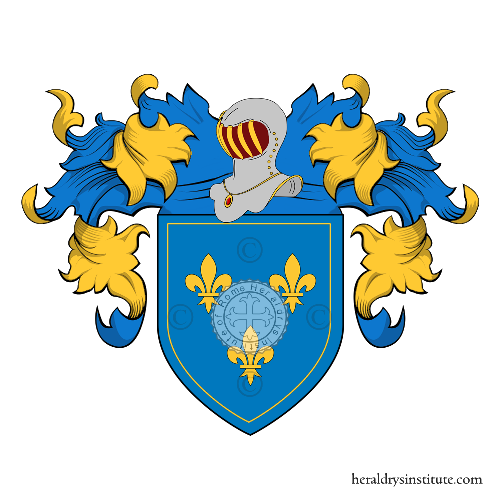 Coat of Arms of family Casavecchia