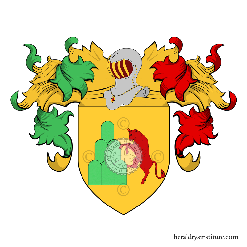 Coat of Arms of family Guidi Casavecchia