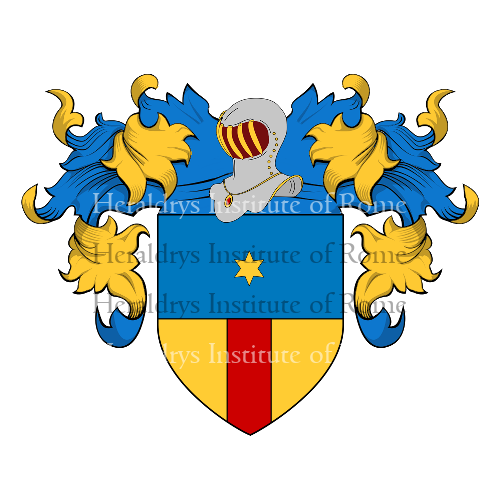 Coat of Arms of family Candusso