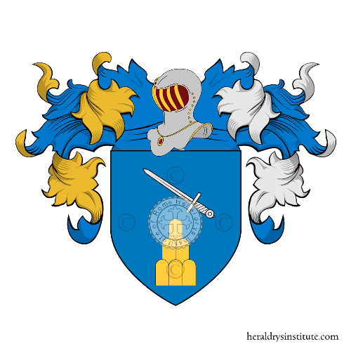 Coat of Arms of family Robbia