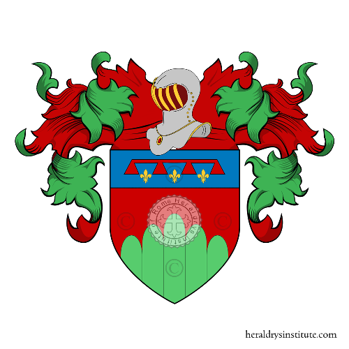 Coat of Arms of family Domeniconi