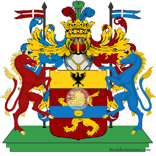 Coat of Arms of family Zillio