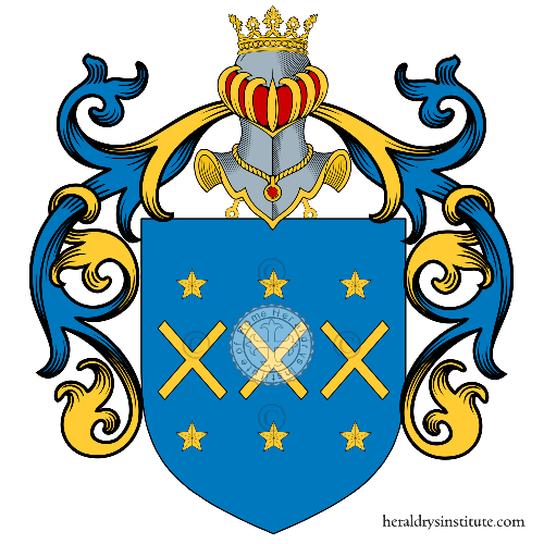Coat of arms of family Schittini