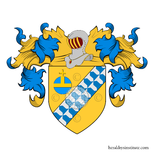 Coat of Arms of family Baroncelli