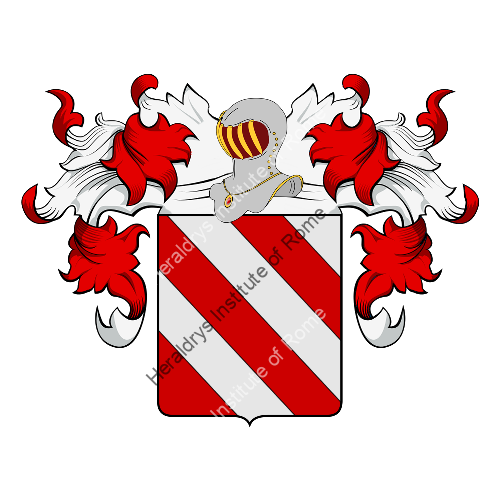 Coat of Arms of family Ospinelli