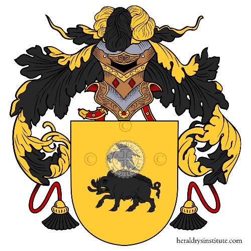 Coat of Arms of family Venancio