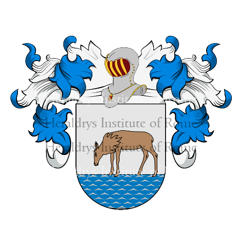 Coat of Arms of family Zulla