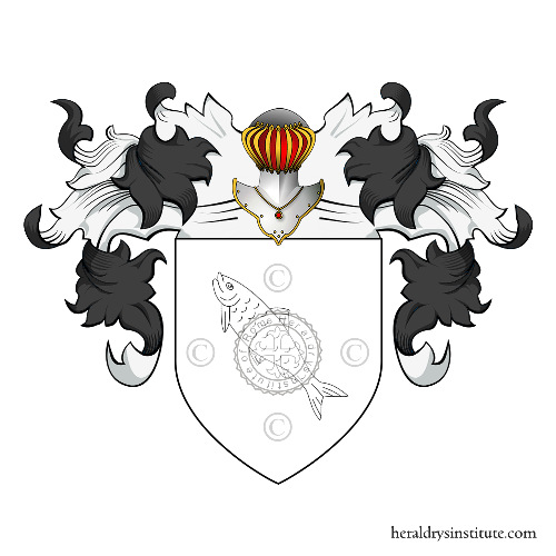 Coat of Arms of family Pesce