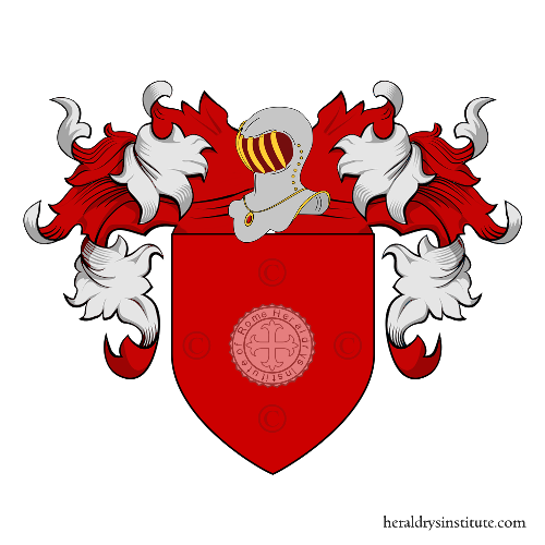 Coat of Arms of family Rubei