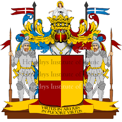 Coat of Arms of family Scera