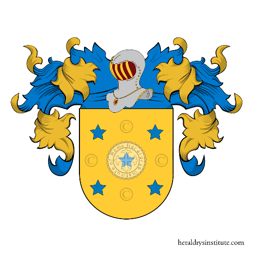 Coat of Arms of family Rojas