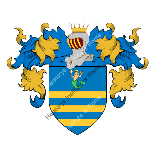 Coat of Arms of family Barra