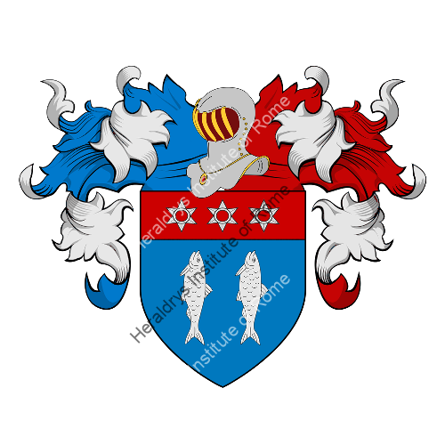Coat of Arms of family Le Carpentier