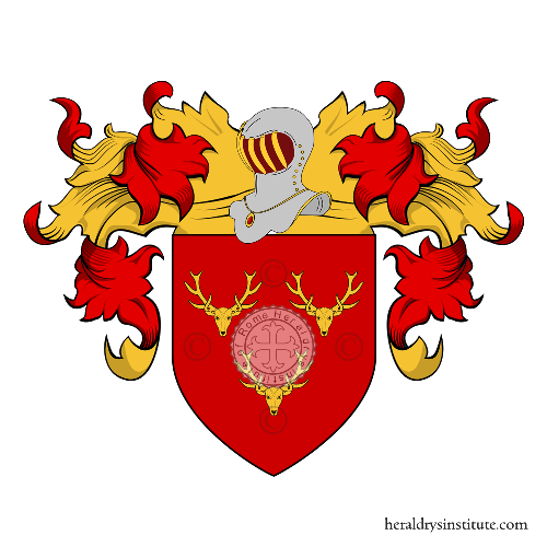 Coat of Arms of family Flo (le)