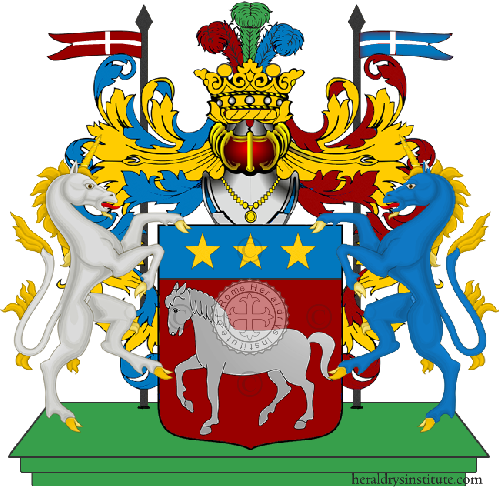 Coat of Arms of family Vavallo