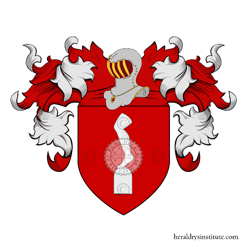 Coat of Arms of family Calcaterra