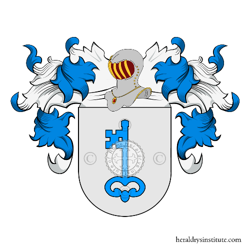 Coat of Arms of family Llavona