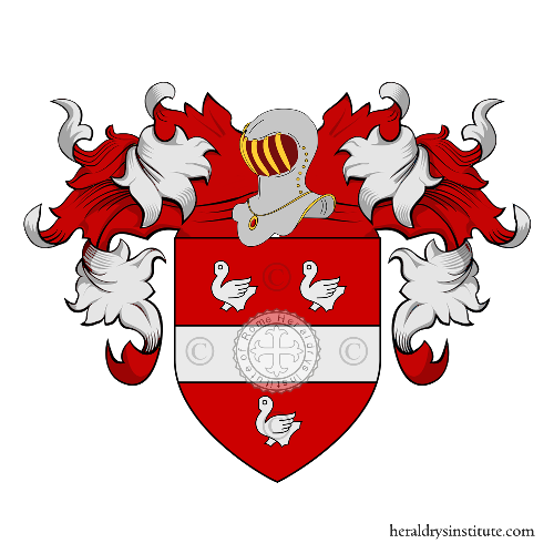 Coat of Arms of family Alizard