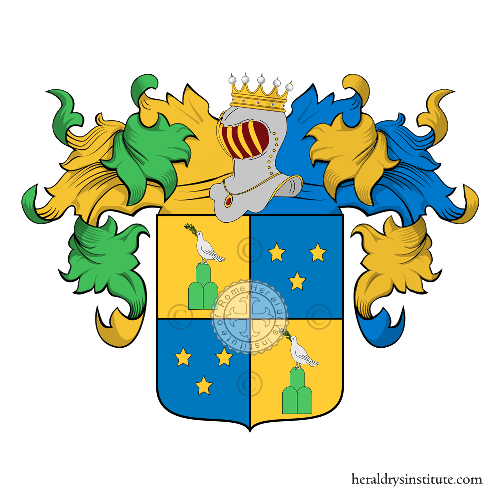 Coat of Arms of family Pasotti