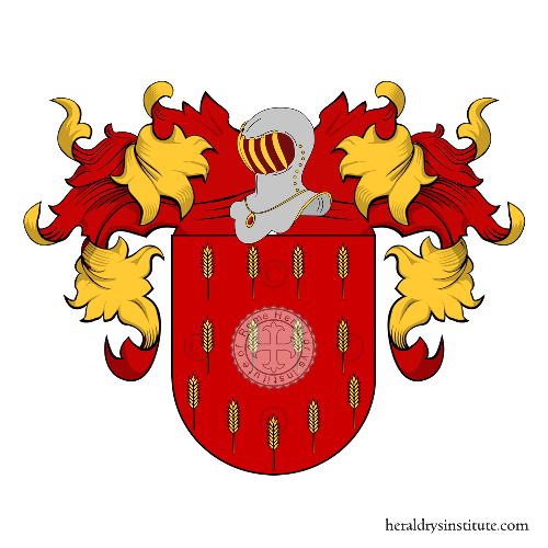 Coat of Arms of family Arista