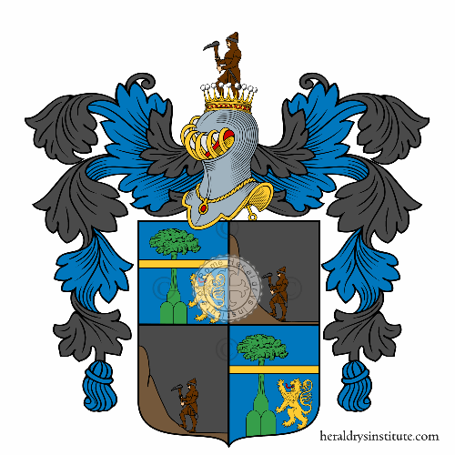 Coat of Arms of family Prandi