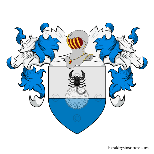 Coat of Arms of family Annichiarico