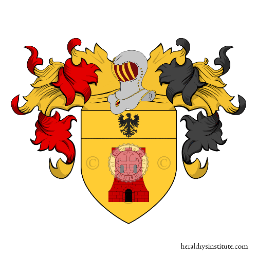 Coat of Arms of family Perucha