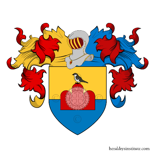 Coat of Arms of family Passeri