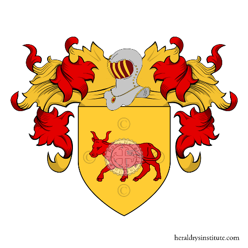 Coat of Arms of family Grulli