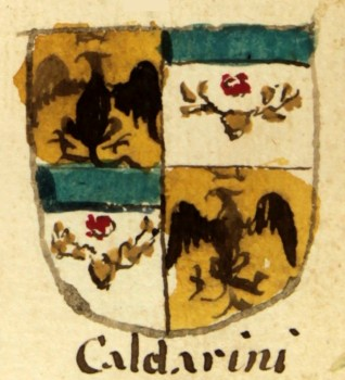 Coat of arms of family Caldarini