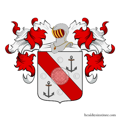 Coat of Arms of family Anchola - Ancoraria