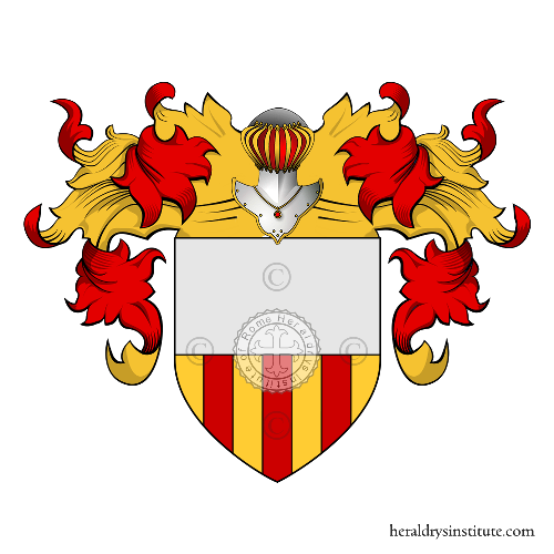 Coat of Arms of family Baldassini