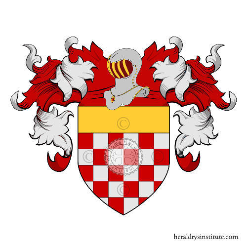 Coat of Arms of family Redigolo