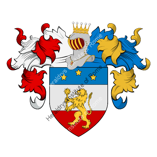 Coat of Arms of family Mazzotti