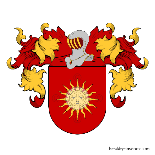 Coat of Arms of family Vilela