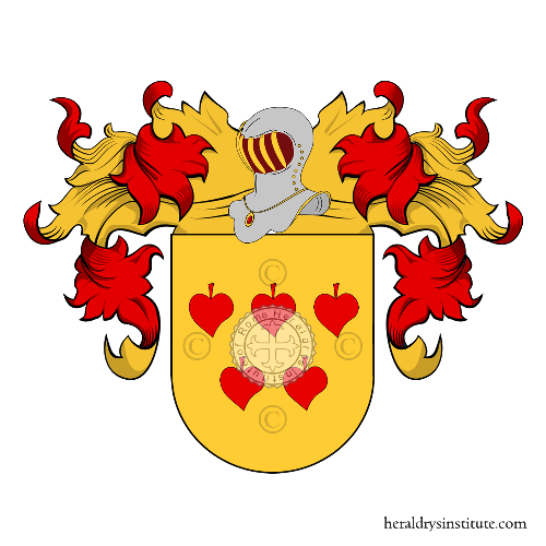 Coat of Arms of family Mannara