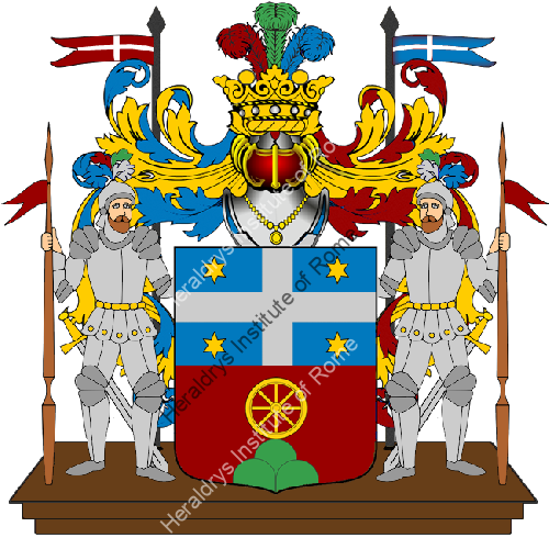 Coat of Arms of family Ceccarani